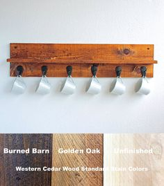 Our Handmade Rustic Coffee Mug Rack With Shelf Is A Stylish Way To Show Off
