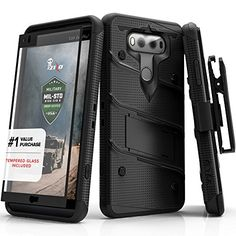 LG V20 Case, Zizo [Bolt Series] with FREE [LG V20 Screen Protector] Kickstand [Military Grade Drop Tested] Holster Belt Clip - Case for LG V20 - http://www.darrenblogs.com/2016/11/lg-v20-case-zizo-bolt-series-with-free-lg-v20-screen-protector-kickstand-military-grade-drop-tested-holster-belt-clip-case-for-lg-v20-2/