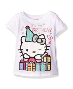 Hello Kitty Girls Happy Birthday T Shirt Mom Shirts For