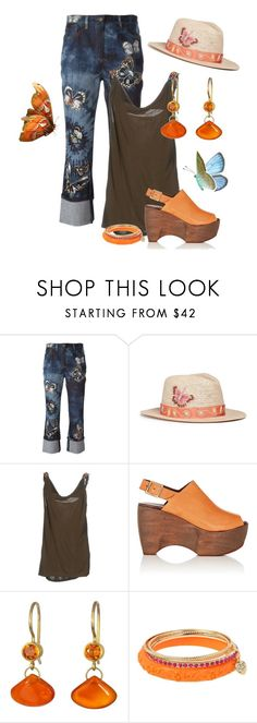 """""""Chic Hatters contest"""" by empathetic ❤ liked on Polyvore featuring Valentino, My Bob, Simon Miller, Mallary Marks and Betsey Johnson"""