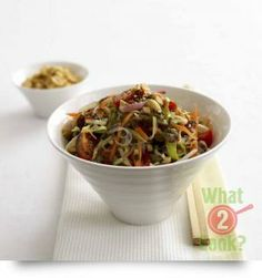 Vietnamese Beef Noodle Salad with Mint