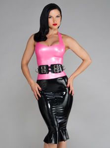 Latex Bell Skirt and waist cincher - not for the average night out, but for some