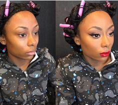 beforeandafter makeup by lyfe stylz salon makeupartist sephora