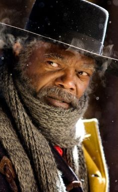 Samuel L. Jackson as Major Marquis Warren in The Hateful Eight (2015)