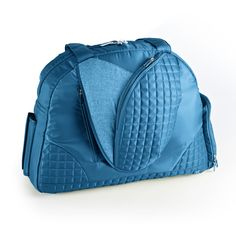 We've got the perfect yoga bag for everything you need hauling your mat to class , or everything you need for the gym. This bag is large and spacious , with lots of easy to access pockets to stash your stuff. The bottom is clear coated, so you can easily it, and the rest is made from a water resistant fabric so that you are covered for wh...