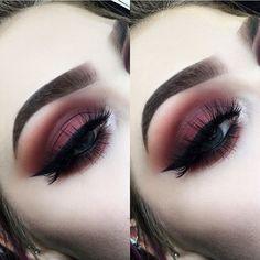 eye makeup looks best on me makeup after lasik makeup glam makeup kajal makeup like audrey hepburn kajal eye makeup makeup brush set makeup vs no eye makeup Makeup Eye Looks, Eye Makeup Tips, Cute Makeup, Makeup Goals, Glam Makeup, Gorgeous Makeup, Skin Makeup, Makeup Inspo, Eyeshadow Makeup