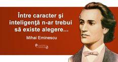 20 citate de Mihai Eminescu. Se aplică cu mare succes și la 165 de ani de la nașterea sa! Importance Of Education, British Country, Golden Rule, Playwright, Types Of Music, Great Friends, Compliments, Positivity, Thoughts