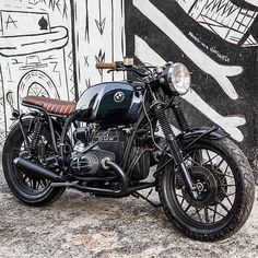 OVERBOLD MOTOR CO. — Lovely blend of old and new on this BMW custom...