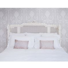 Provencal Lit Lit White Rattan Bed by The French Bedroom Company