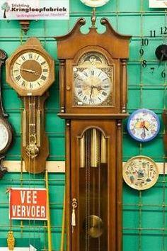 Een prachtige grote staande klok! #kringloopvondst #kringloop #thrift