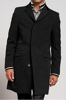 BR Monogram Wool Vintage Topcoat