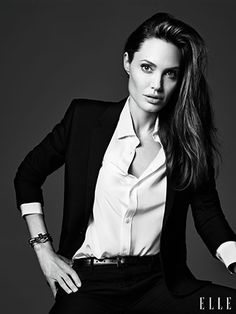 Angelina Jolie Gives Us One Serious Pep Talk #refinery29  http://www.refinery29.com/2014/05/67520/angelina-jolie-elle-magazine-june-2014#slide3