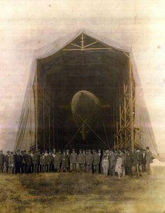 A Zeppelin in Yeşilköy, Istanbul (1913)