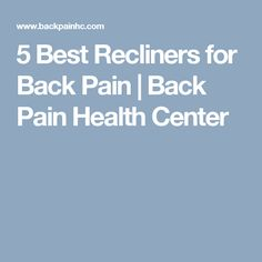 Best Recliners For Back Pain #Best-Recliners-For-Back-Pain #furniture # recliner #backpain | Best Recliners For Back Pain | Pinterest | Recliner and Top ...  sc 1 st  Pinterest & Best Recliners For Back Pain #Best-Recliners-For-Back-Pain ... islam-shia.org