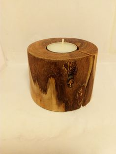 Country Style Table Decor Natural Apple Wood