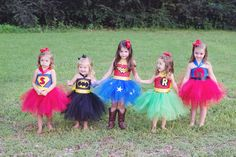 Super Hero Inspired Tutu Dress Birthday Parties or por shoppe3130, $35.00