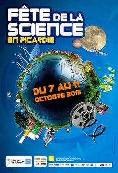 Ombelliscience #Picardie 7 au 11 oct #FDS2015 @FeteScience programmes scolaires, grand public