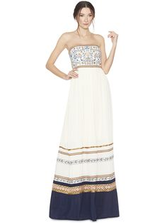 QUYEN EMBROIDERED DRESS by Alice + Olivia