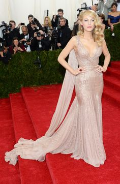 Blake Lively in Gucci at the 2014 Met Gala