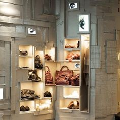 Belgian artist Arne Quinze has completed the interior of a store for L'Eclaireur in Paris