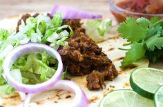 Ancho Lentil Tacos - Vegan