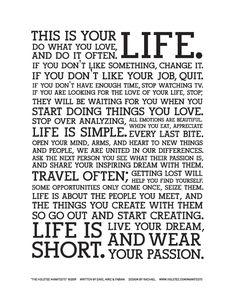 Live, Life...LOVE