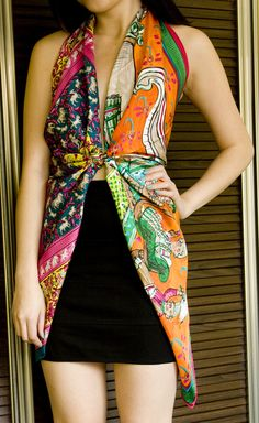 12 Ways to Wear Your Hermes Scarf