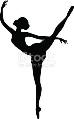 34 best dancer silhouettes images  dancer silhouette