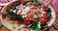 Watermelon & Feta Salad | Recipes | Heirloom Meals: Savoring Yesterday's Traditions Today