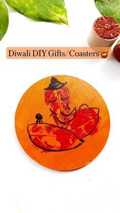Diwali Food, Diwali Diy, Diy Coasters, Indian Home Decor, Diy Party Decorations, Diy Wall Decor, Diy For Kids, Diy Gifts, Paper Crafts
