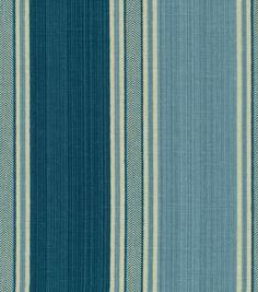 Idea For Curtains Waverly Home Decor Fabric Spotswood Stripe Porcelain