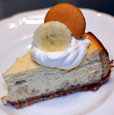 Banan pudding cheesecake