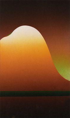Abstract Composition c.1970  Acrylic on canvas  155 x 72cm