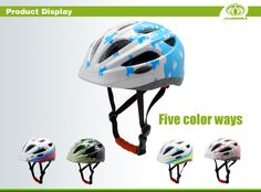 A new wonderful kid bicycle helmet for creative, crazy, geeky kids! do you like for your kids?
