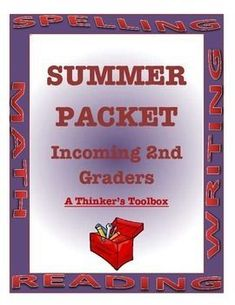 Summer Packet - Incoming Graders (School Closure Alternative) - Real Time - Diet, Exercise, Fitness, Finance You for Healthy articles ideas Math Worksheets, Summer Worksheets, Teaching Resources, Summer Slide, School Closures, Summer Activities, September Activities, Common Core Standards, Summer School