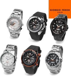 """Giorgio Fedon 1919 Watch Collection"" by boston-and-boston on Polyvore"
