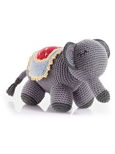 Adorable handmade elephant toy!