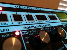 MATRIXSYNTH: Moog Voyager Rackmount Analog Synthesizer RME SN R...
