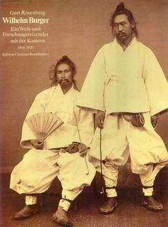 Korean men in traditional clothing taken sometime in the early