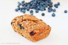 Vegan Zucchini Blueberry Bread!