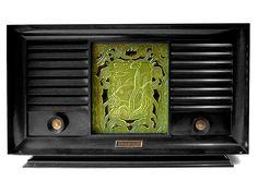 Standard Electric Aquarium radio model 1305, 1954 by galessa's plastics, via Flickr