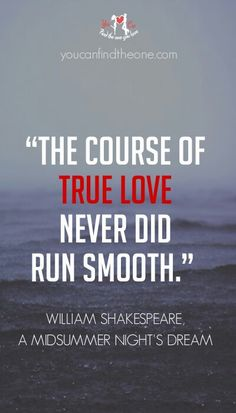 Sometimes, it will never be that easy but you know it is worth it. youcanfindtheone.com #love #quotes #relationship #truelove #shakespeare