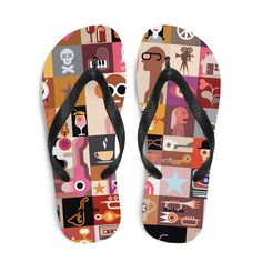 Little monkey Flip-Flops - Starty. Little Monkeys, Flipping, Flip Flops, Sandals, Shoes, Women, Fashion, Moda, Shoes Sandals