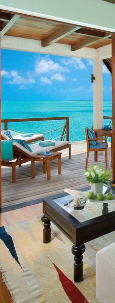 25 Spectacular Ocean Huts for a Peaceful Setting season resort, blue ocean, resort life, resort maldiv, cool travel places, maldives travel, beach, ocean vacation, cool resorts