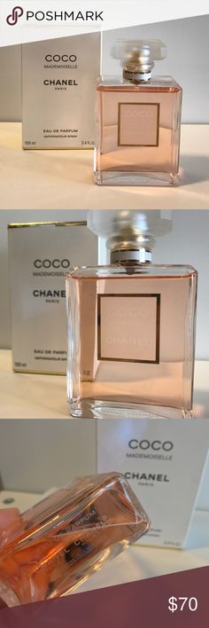 Chanel Coco Mademoiselle 3.4 fl oz Only a very small amount missing Will ship with box Retail = $124 CHANEL Makeup