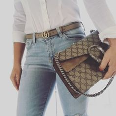 9d6175ae36f Gucci Dionysus bag   Gucci marmont skinny belt ❤ recent favorites
