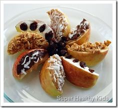 tons of healthy snack ideas for kids // super healthy kids.