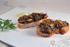 """Morcilla"" (vegana) de verano (en sartén). #receta #vegana"