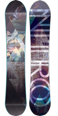 Victoria 146 Snowboard for women by Nitro Follow for follow, pin for pin!