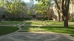 Trinity College Quad, University of Toronto (U of T) from Most Beautiful University Campuses In Canada Top Travel Websites, Cheap Travel Insurance, Student Travel, Downtown Toronto, University Of Toronto, College Campus, Close To Home, Freshman Year, Quebec City